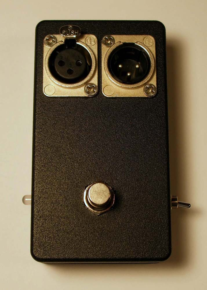 Xlr Microphone Mute Switch Pedal